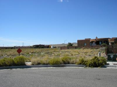 Bernalillo County Residential Lots & Land For Sale: 6205 Marigold Court NW