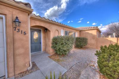 Albuquerque Single Family Home For Sale: 7315 Villa Rosado NE