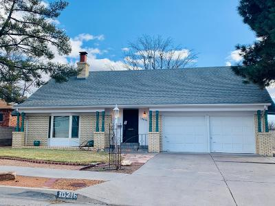 Albuquerque Single Family Home For Sale: 10216 Santa Paula Avenue NE