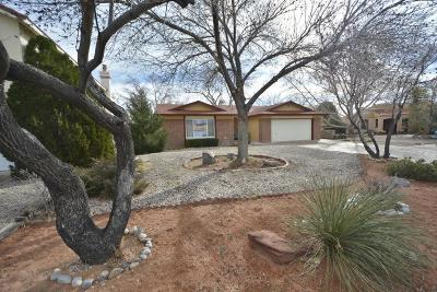 Albuquerque Single Family Home For Sale: 6204 Dellyne Court NW