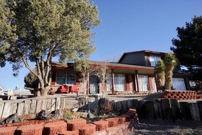 Single Family Home For Sale: 7541 Capulin Road NE