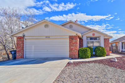 Albuquerque Single Family Home For Sale: 3216 Painted Rock Drive NW