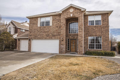 Albuquerque Single Family Home For Sale: 2400 Oakbrook Drive NW