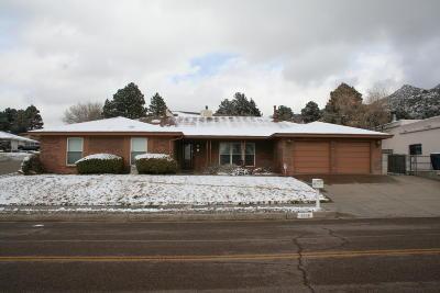 Albuquerque Single Family Home For Sale: 4008 Camino De La Sierra NE