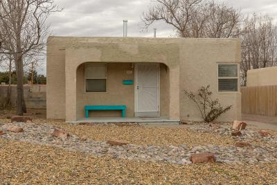 Albuquerque Single Family Home Active Under Contract - Short : 801 Princeton Drive SE