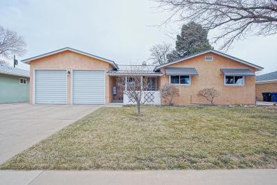 Albuquerque Single Family Home For Sale: 2814 California Street
