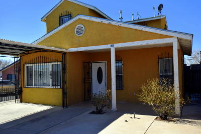 Albuquerque Single Family Home For Sale: 641 Alcazar Street SE