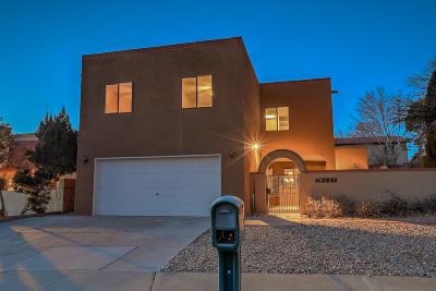 Albuquerque Single Family Home For Sale: 9527 San Rafael Avenue NE