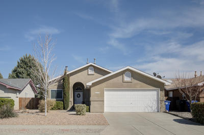 Albuquerque Single Family Home For Sale: 1416 Stoneway Drive NW