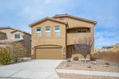 Albuquerque Single Family Home For Sale: 8409 Mock Heather Road NW