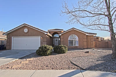 Albuquerque Single Family Home For Sale: 7400 Parkwood Drive NW