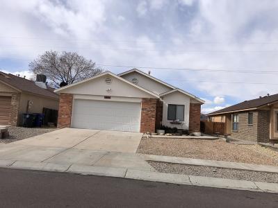 Albuquerque Single Family Home For Sale: 3605 Santa Teresa Street NW