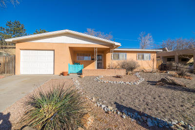 Albuquerque NM Single Family Home For Sale: $187,900