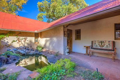 Corrales Single Family Home For Sale: 516 Rincon Road