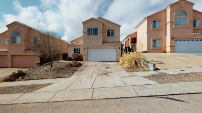 Albuquerque Single Family Home For Sale: 10509 Cassiopeia Street NW
