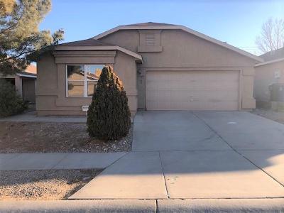 Albuquerque Single Family Home For Sale: 9100 Schooner Road NW