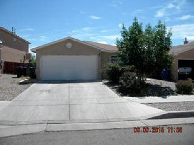 Albuquerque Single Family Home For Sale: 504 90th Street Street SW