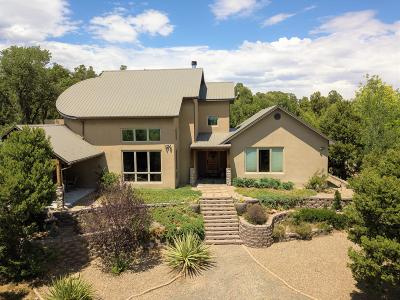 Tijeras, Cedar Crest, Sandia Park, Edgewood, Moriarty, Stanley Single Family Home For Sale: 105 Edelweiss