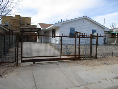 Albuquerque NM Single Family Home For Sale: $126,900