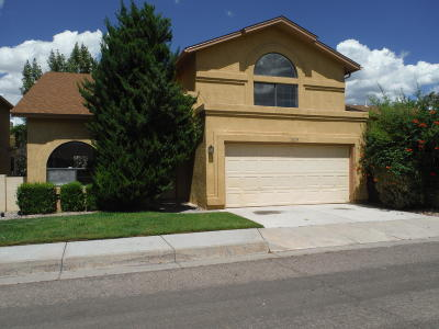Albuquerque Single Family Home For Sale: 11009 Central Park Drive NE