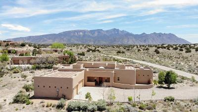Placitas, Bernalillo Single Family Home For Sale: 43 Sky Mountain Road