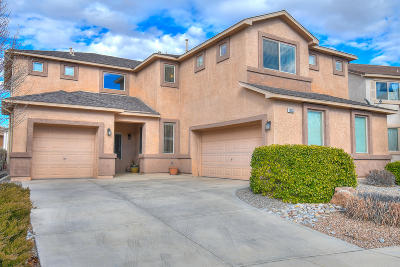 Albuquerque Single Family Home For Sale: 10532 Bitter Creek Drive NW