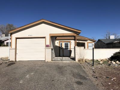 Rio Rancho Single Family Home For Sale: 4745 Platinum Drive NE