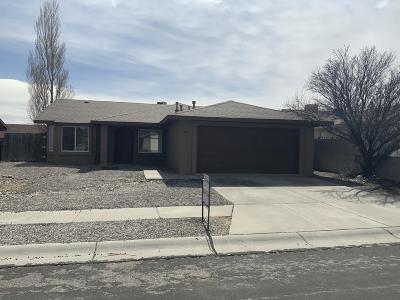 Albuquerque Single Family Home For Sale: 9108 Sunwise Avenue SW