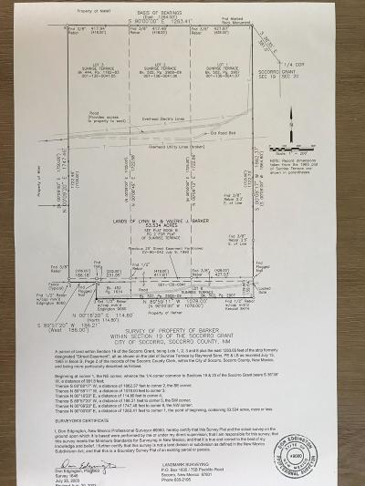 Socorro County Residential Lots & Land For Sale: Blue Canyon Road