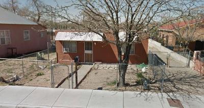 Albuquerque Single Family Home For Sale: 1719 Broadway Boulevard SE