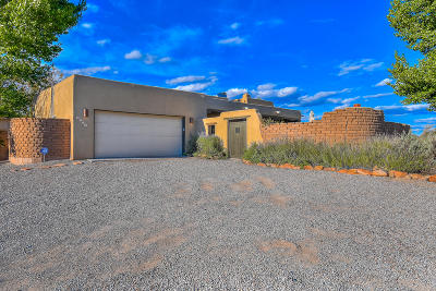 Corrales Single Family Home For Sale: 1079 Sagebrush Drive