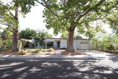 Albuquerque Single Family Home For Sale: 1622 San Patricio Avenue SW