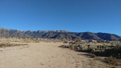 Bernalillo County Residential Lots & Land For Sale: San Antonio Road NE