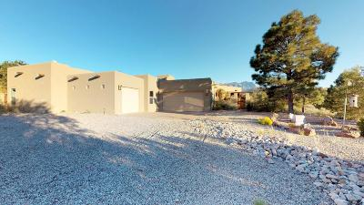 Placitas, Bernalillo Single Family Home For Sale: 2 Alexi Drive