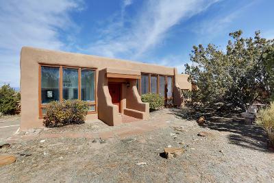 Placitas, Bernalillo Single Family Home For Sale: 42 Quail Meadow Road