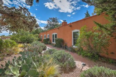 Bernalillo County Single Family Home For Sale: 1604 Bayita Lane NW