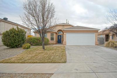 Rio Rancho Single Family Home For Sale: 3322 Hunters Meadows Circle NE