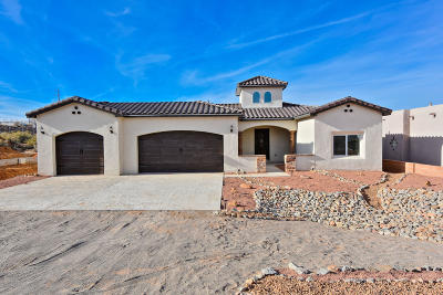 Rio Rancho Single Family Home For Sale: 513 Monterrey Road NE