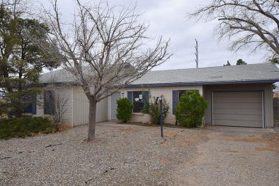 Rio Rancho Single Family Home For Sale: 1217 Spur Road SE