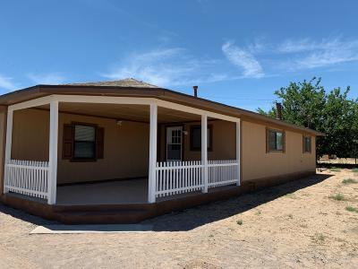 Los Lunas Single Family Home For Sale: 1443 Jeannie Drive