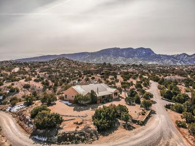 Placitas Single Family Home For Sale: 5 Calle Final