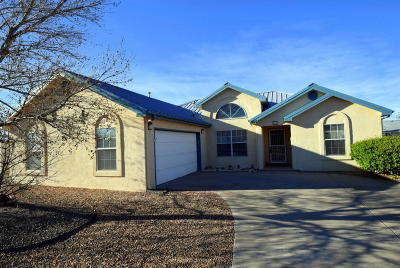 Valencia County Single Family Home For Sale: 1872 Ash Drive SW