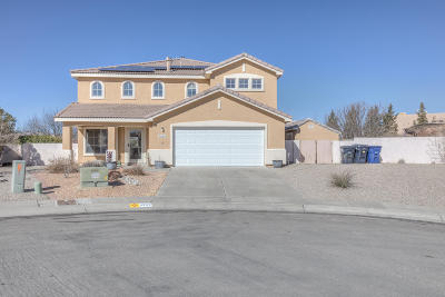 Albuquerque Single Family Home For Sale: 4249 Montera Place NW