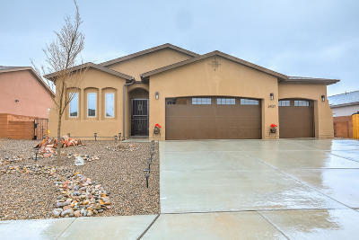 Rio Rancho Single Family Home For Sale: 6937 Mountain Hawk Loop NE