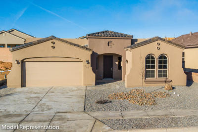Rio Rancho Single Family Home For Sale: 6923 Trapper Creek Road NE