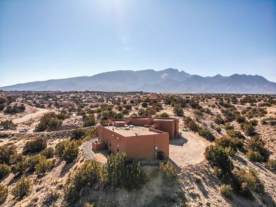 Placitas Single Family Home For Sale: 97 Vista Montana Loop