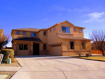 Rio Rancho Single Family Home For Sale: 1200 Sidewinder Road NE
