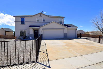 Rio Rancho Single Family Home For Sale: 205 Sugar Ridge Loop SE