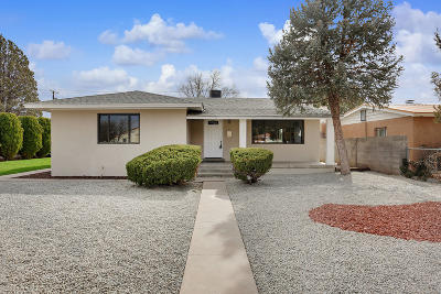 Albuquerque Single Family Home For Sale: 702 Carlisle Place SE