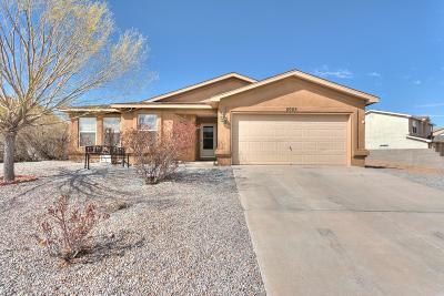 Rio Rancho Single Family Home For Sale: 5055 White Owl Court